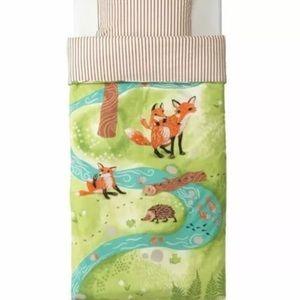 Listing 1: IKEA Twin Size Duvet Quilt Kids Owl Fox